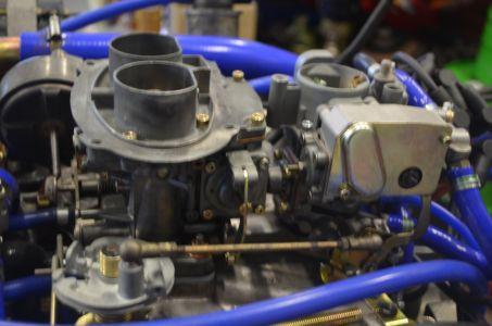 Motor mit revidiertem Vergaser 01/2017
