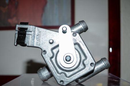 Heizungsregler aus Aluminium